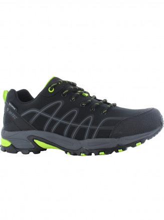 Mens Hi-tec Corvus Low Wp Black