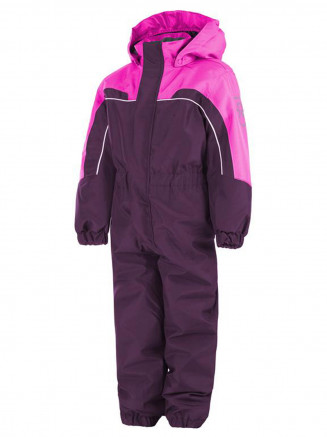 Kids Saxo Padded Coverall Purple