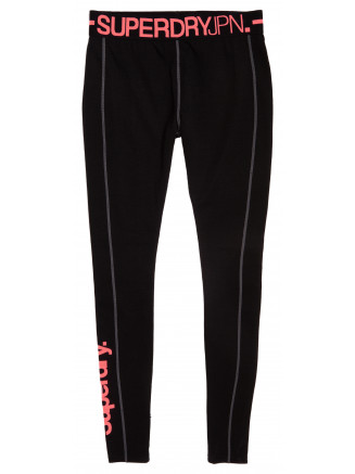 Womens Carbon Baselayer Legging Black