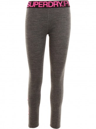 Womens Merino Base Layer Legging Grey