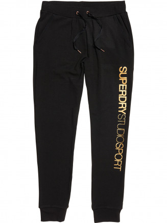 Womens Studio Super Soft Jogger Black