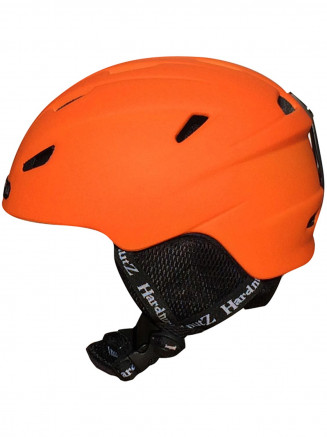 In-Mould Ski & Snowboard Helmet Orange