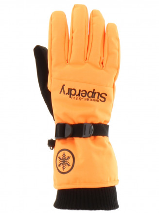 Mens Ultimate Snow Service Glove Orange