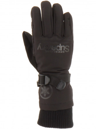 Womens Ultimate Snow Service Glove Black