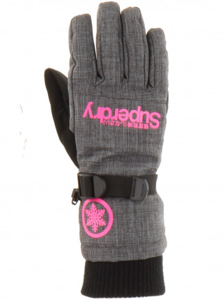 Womens Ultimate Snow Service Glove Grey