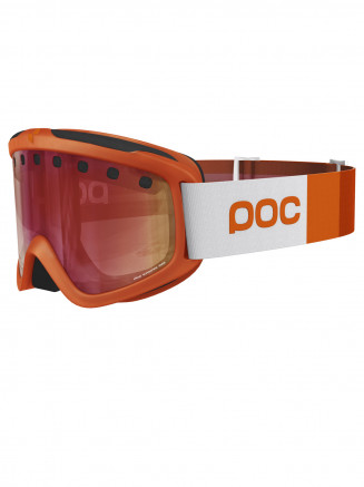 Adults Iris Stripes Goggles Orange