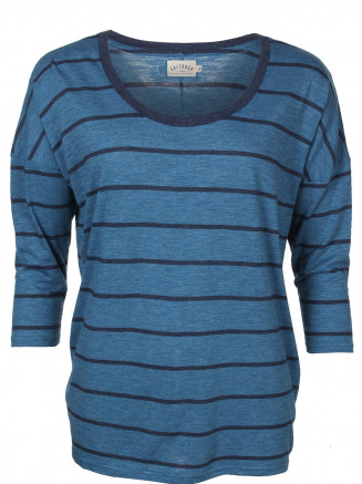 Womens Optica L/s Slouchy Tee Blue