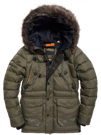 Mens Chinook Parka Green
