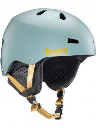 Mens Macon Eps Helmet With Liner Green