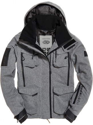 Mens Ultimate Snow Action Jacket Grey