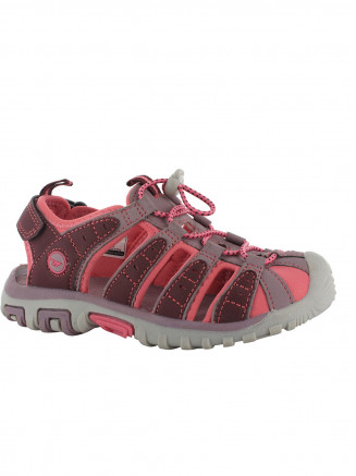Kids Hi-tec Shore Sandal Purple