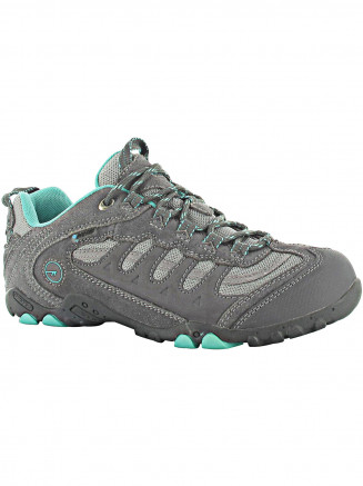 Womens Hi-tec Penrith Low Wp Shoe Grey