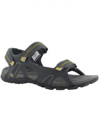 Mens Hi-tec Terreno Strap Sandal Grey