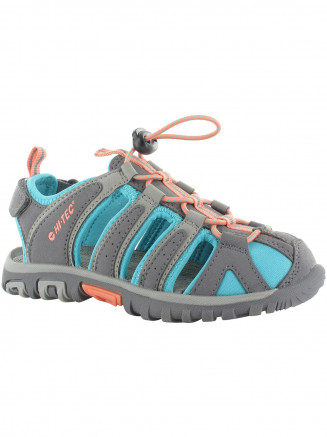 Kids Hi-tec Cove Sandal Grey