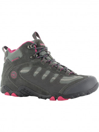Womens Hi-tec Penrith Mid Wp Grey