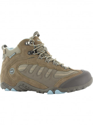 Womens Hi-tec Penrith Mid Wp Brown