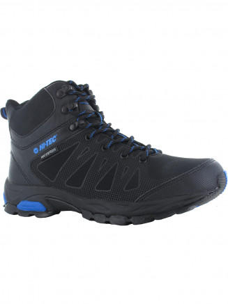 Mens Hi-tec Raven Mid Wp Black