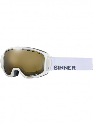 Mens Womens Mohawk Goggles White