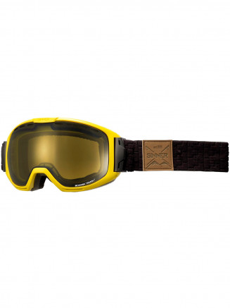 Mens Womens Mohawk Goggles Yellow