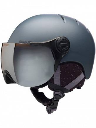 Adults Crystal Helmet Grey