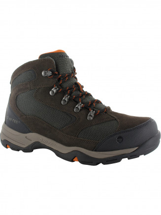 Mens Hi-tec Storm Wp Brown