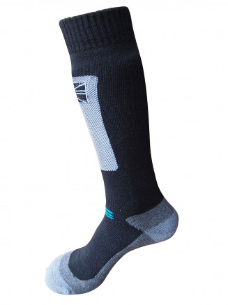 Mens Endurance Merino 1 Pack Ski Sock Black