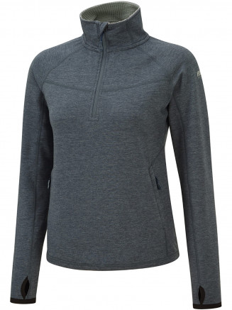Surfanic Womens Mantra 1/2 Zip Neck Fleece Blue