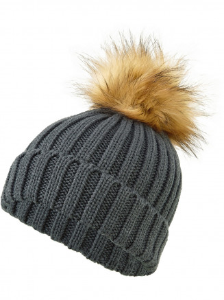 Mens Womens Stunner Beanie Grey
