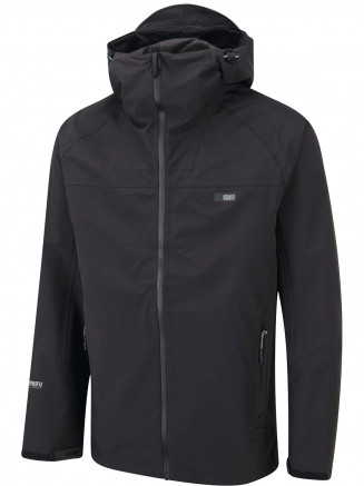 Mens Shoreline 3 Layer Jacket Black