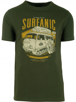 Mens Campillar T- Shirt Green