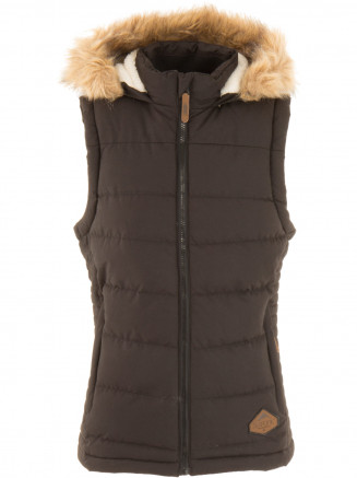 Womens Emmy Gilet Black