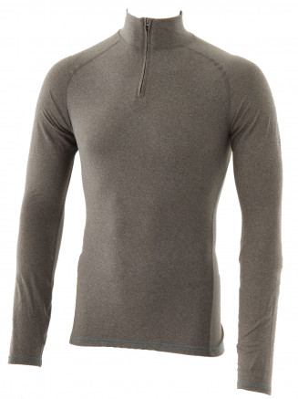 Mens Zammo Zip Neck Baselayer Grey