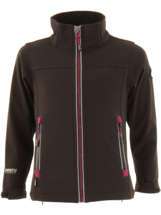 Girls Buzzle Softshell Black