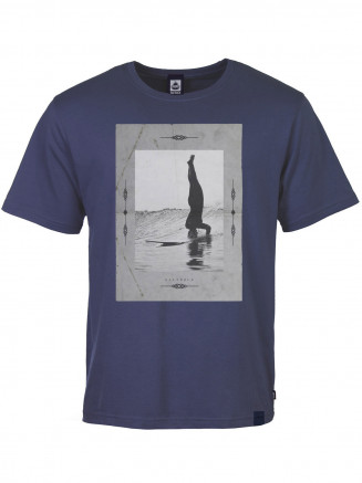Mens Headstand S/s Tee Blue