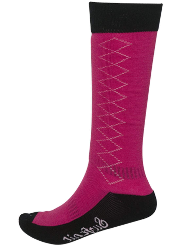 Surfanic Girls Ski Socks Pink New Performance Snowboarding ...
