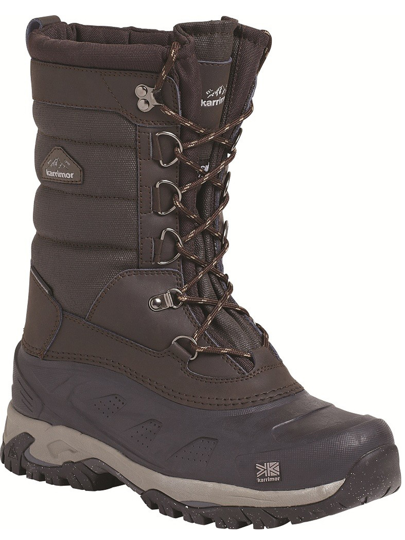 mens karrimor bering snow boot brown snow boots outdoor