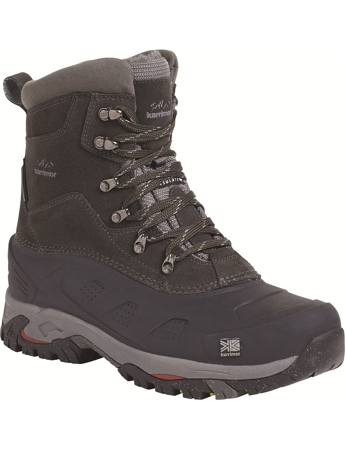 Mens Karrimor Snowfur 2 Boot Black - Snow Boots, Outdoor