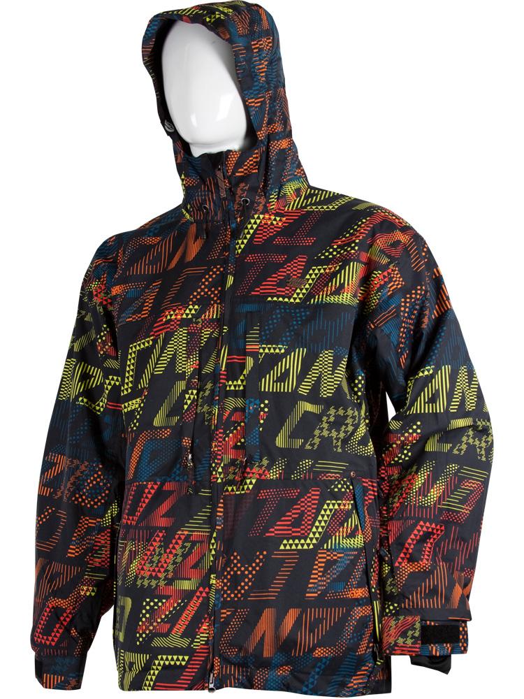 Santa cruz nero bridge da uomo snowboard giacca e cappotto - Tavole da snowboard santa cruz ...