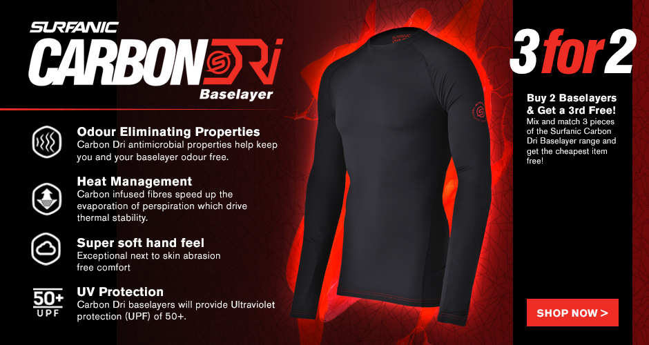 3 for 2 CarbonDri Baselayers