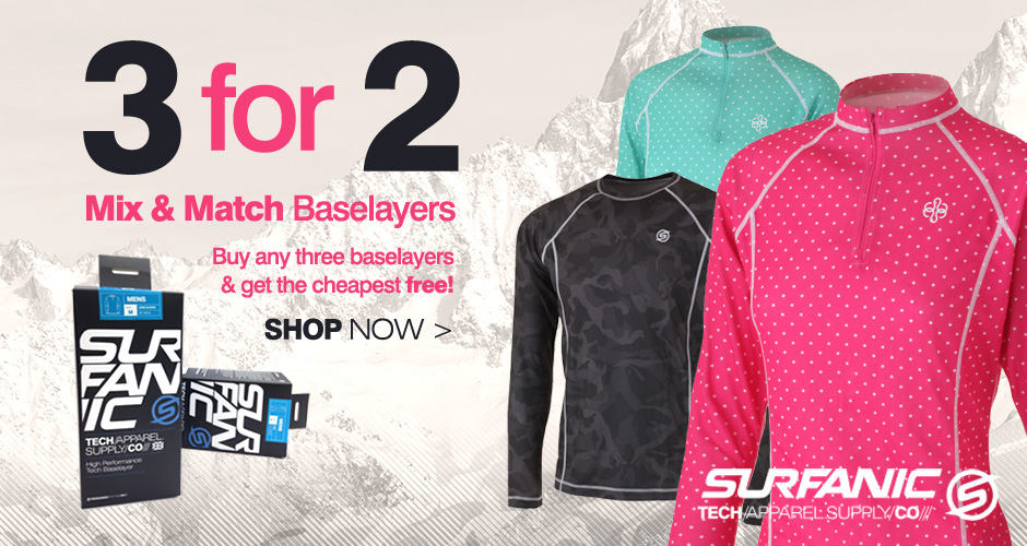 3 for 2 Base Layers