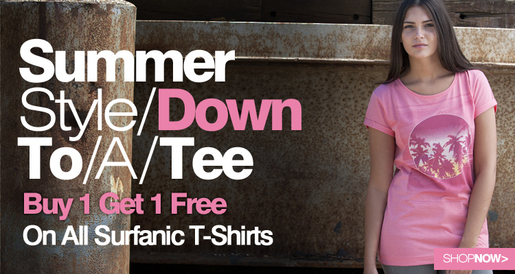 Surfanic Summer T Shirts