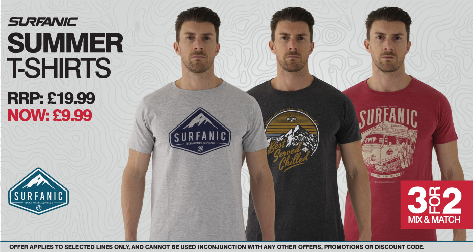 3 for £20 T-shirts