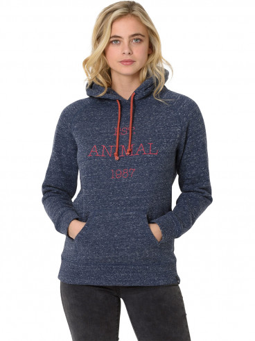 Womens Speckles Hoody Grey