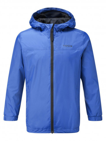 Kids Craven Waterproof Packaway Jacket Blue