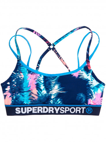 Womens Sport Dash Bra Blue