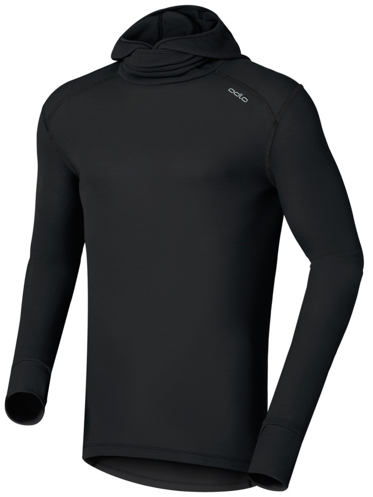 Warm Long Sleeve Crew Neck Facemask