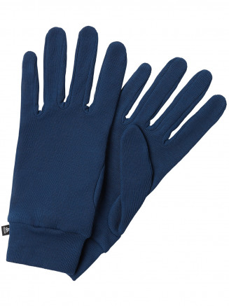 Mens Warm Gloves Blue