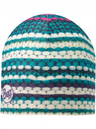 Mens Womens Coma Microfiber & Polar Hat Turquoise