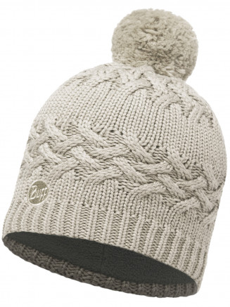Mens Womens Savva Knitted Hat Neutral