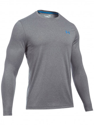 Mens Lightest Warm Coldgear Infared Crew Grey